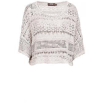 Myrine Antwerp Metallic Loose Knit Sweater