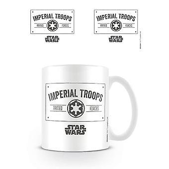 Caneca das Tropas Imperiais de Star Wars
