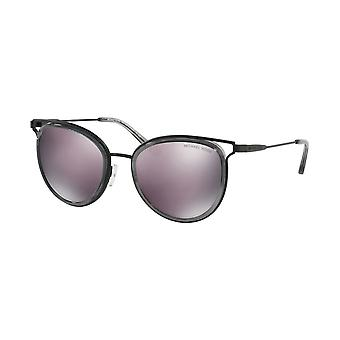 Michael Kors Havana Ladies Sunglasses - MK1025 12025R - Black/Grey