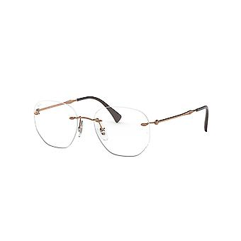 Ray-Ban RB8754 1131 Hellbraune Brille