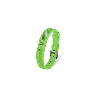 Replacement Wristband Bracelet Strap Band for Fitbit Flex 2 Classic Buckle[Small,Green] BUY 2 GET 1 FREE