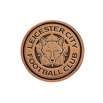Leicester City Badge Antique Gold
