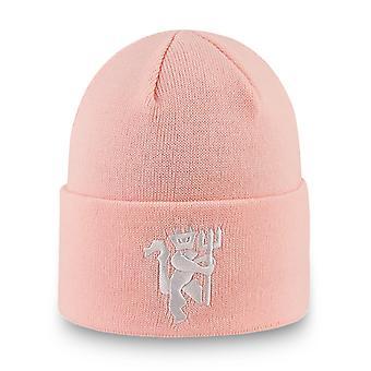 العصر الجديد قبعة الشتاء بيني - VERT مانشستر يونايتد الوردي