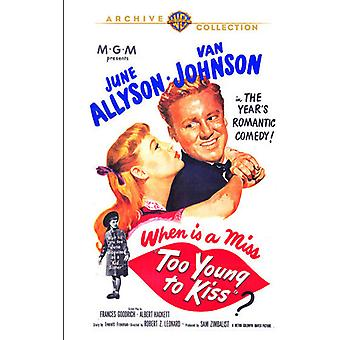Too Young to Kiss [DVD] USA import