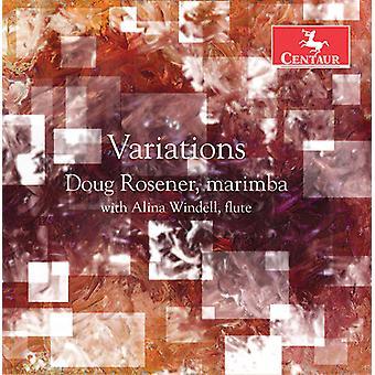 Gillingham / Rosener / Windell - Variations [CD] USA import