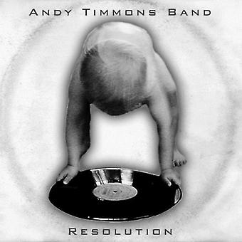 Andy Timmons Band - Resolution [CD] USA import