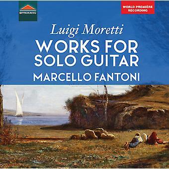 Moretti / Fantoni - Works for Solo Guitar [CD] USA import