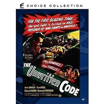 Unwritten Code [DVD] USA import