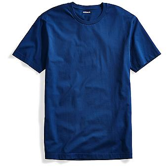 "Goodthreads Men's ""The Perfect Crewneck T-Shirt"" Short-Sleeve Cotton, Royal B..."