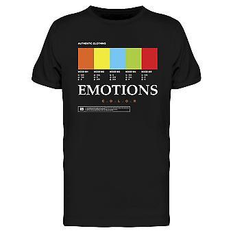 Emotions Color Tee Men's -Imagen por Shutterstock