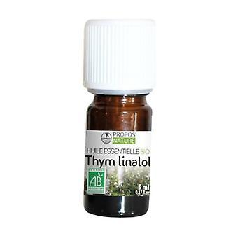 Óleo essencial de tomilho Linalol 5 ml de óleo essencial