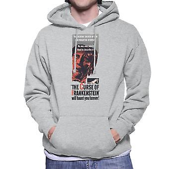 Hammer Horror films Frankenstein zal u eeuwig achtervolgen mannen ' s Hooded Sweatshirt