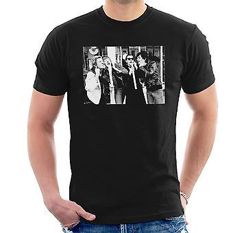 Die verdammten außerhalb Stiff Records 1977 Herren T-Shirt