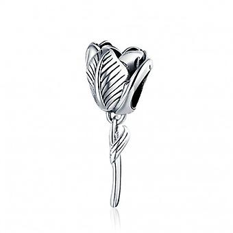 Sterling Silver Charm Tulip - 6647