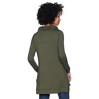 Brand - Daily Ritual Women's Supersoft Terry Funnel-Neck Tuniek, Olive,...