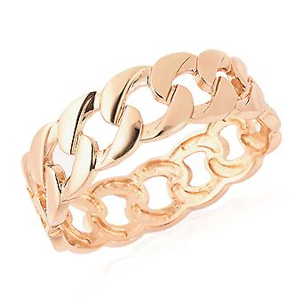 Manchetklee in Yellow Gold Tone for Women Size 8