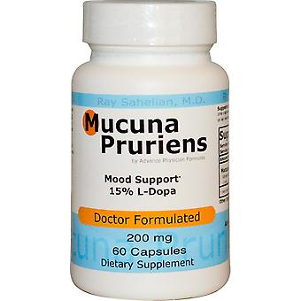 Advance Physician Formulas, Mucuna Pruriens, 200 mg, 60 Capsules