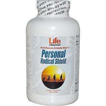 Life Enhancement, Durk Pearson & Sandy Shaw's, Personal Radical Shield, 336 Caps