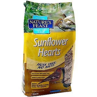 Nature's Feast Natures Feast Premium Sunflower Hearts - 1,75kg