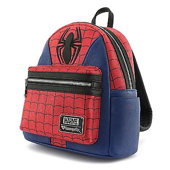 Loungefly X Marvel Spider-man Suit Mini Faux Leather Backpack