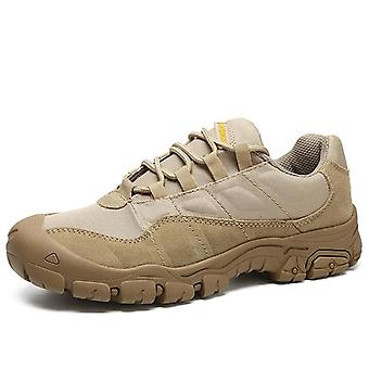 Mickcara men's  hiking shoes suede 5123