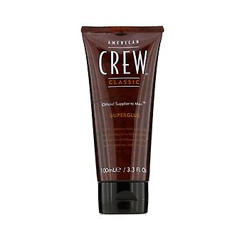 American Crew Men Super Glue (Extreme Hold and Shine) 100ml/3.3oz