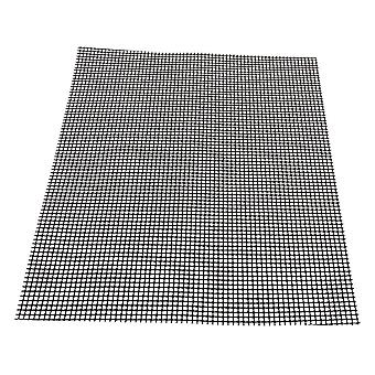 Black Barbecu Grill Grid Mats 30x40cm