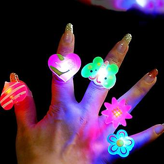Anneaux lumineux - Glow In The Dark & s Flash Led Cartoon Lights