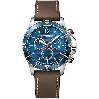 فينجر - ساعة اليد - رجال - Seaforce - 01.0643.116 - أزرق، 43 مم