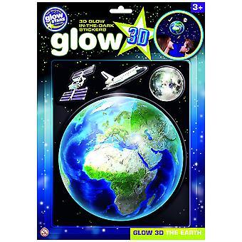 The Original Glowstars Glow 3D The Earth