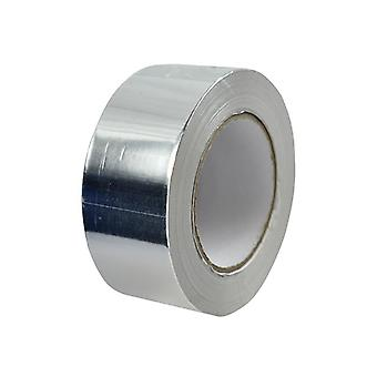 Faithfull Aluminium Foil Tape 50mm x 45.7m 08065050TB6