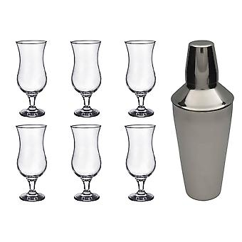 Rink Drink Pina Colada Cocktail Shaker Set