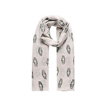 Fabel Unisex Adult Owl Fashion Sjaal