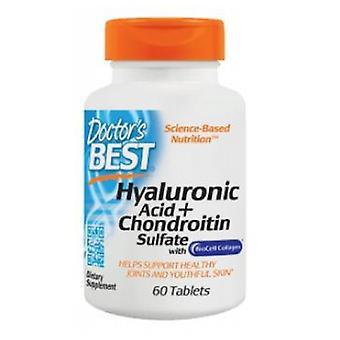 Artsen Beste Hyaluronzuur met Chondroitin Sulfaat, 60 Tabs