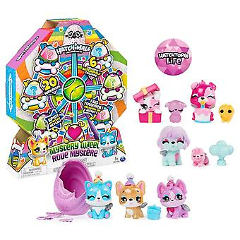 Hatchimals Colleggtibles Mystery Wheel Puppy Party