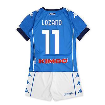 2020-2021 Napoli Home Kit (Kids) (LOZANO 11)