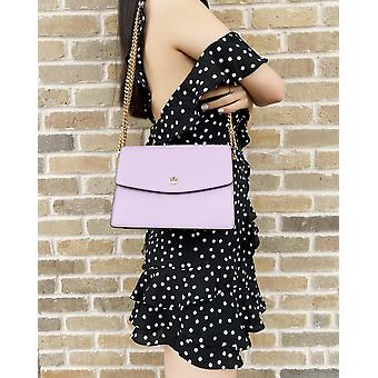 Tory burch emerson envelope adjustable chain shoulder bag dusty violet lilac
