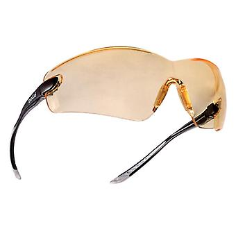 Bolle Safety COBRA Safety Glasses - Yellow BOLCOBPSJ