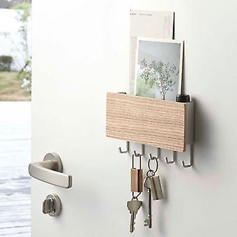 vegghengt type tre dekorative - vegghylle sundries, henger / arrangør nøkkel