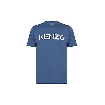 T-shirt bleu Kenzo Classic Logo