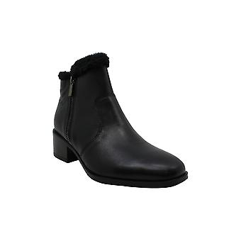 Kenneth Cole Reaction Women's Shoes Salt Zip Cozy Leather Almond Toe Ankle Fa...
