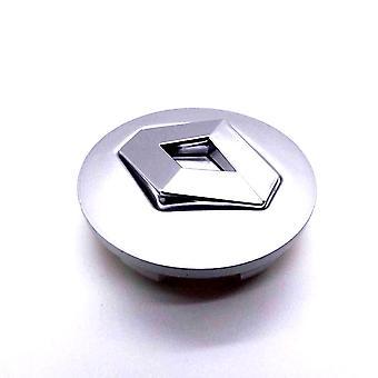 Grey Renault Car Wheel Center Caps Hub Cover 60mm 1 PCS For Megane, Laguna, Espace, Scenic, Clio