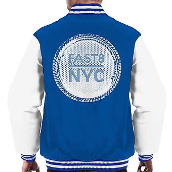 Fast and Furious Fast 8 NYC Men's Varsity Jacket