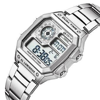 STRYVE S8007 Leuchtendisplay Alarm Datum Woche Display Countdown Männer Sport