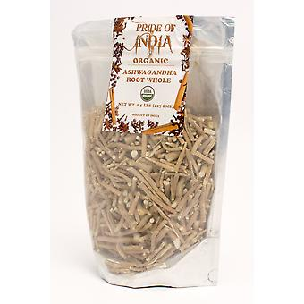 Organic Ashwagandha Root Whole