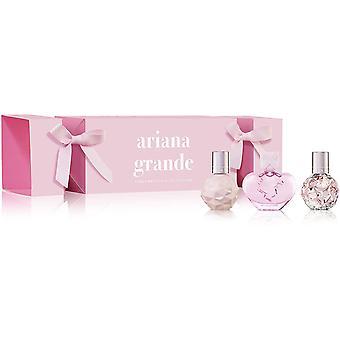 Ariana Grande Set regalo in miniatura 7.5ml Dolce come Candy EDP + 7.5ml Grazie U, Prossimo EDP + 7.5ml Cloud EDP