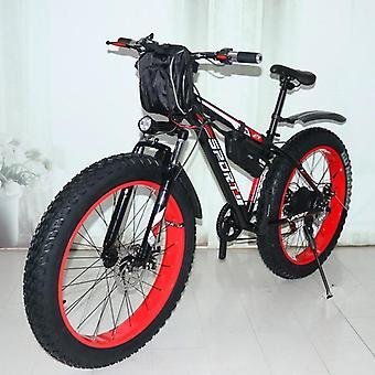 New Electric Snowmobile Mountain Bike, Lithium Electric Power Ebike