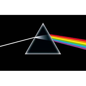 Pink Floyd Poster Lato oscuro della Luna nuova bandiera tessile ufficiale 70cm x 106cm