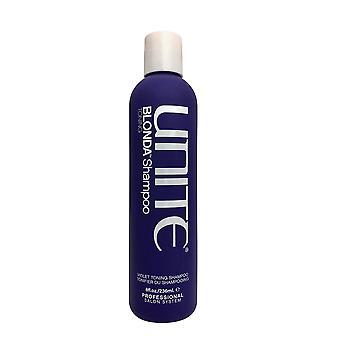 Yhdistä blondi shampoo violetti sävytys shampoo 8 OZ
