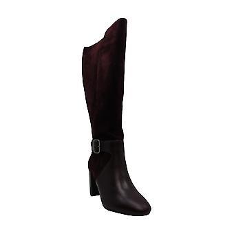Alfani Mujer's Zapatos Nelsonn Ante Cerrado Dedo Rodilla Alta Moda Botas